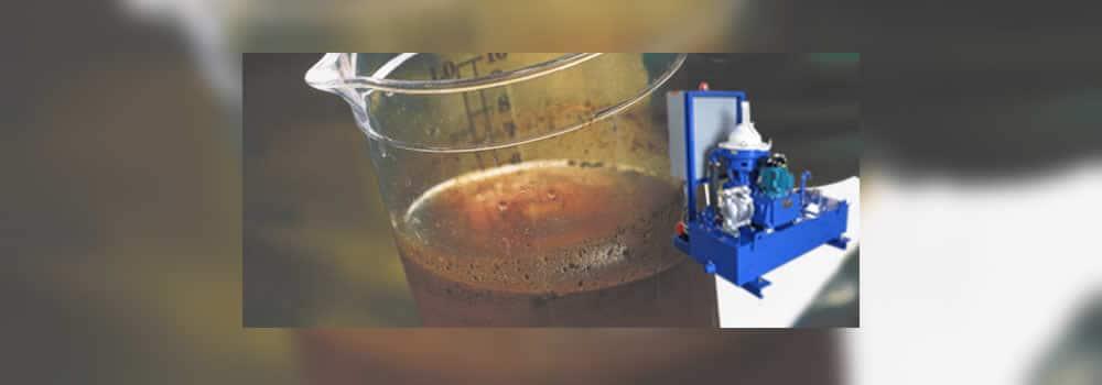 Wash Water Centrifuge Application
